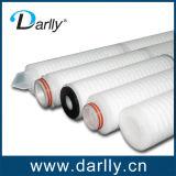 Filtre plissé pour préfiltration utilisé en pharmacie