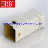 IP67 Fio a Fio 8 Pinos do conector automático