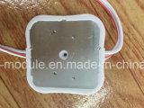 módulo barato del precio 2W 5730 4chip LED con la lente para la muestra