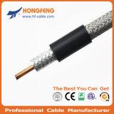 Câble coaxial Câble tronc avec Messenger RG11