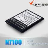 Батарея качества быстрой поставки первоначально для батареи примечания 2 Samsung