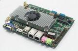 3.5inch дешевая двойная материнская плата сердечника DDR3 с Win7/X86 OS Emedded