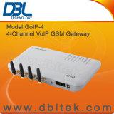 4つのチャネルGSM VoIPのゲートウェイ(GoIP4)