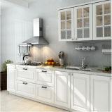 国様式の台所のためのモジュラー白PVCドアの食器棚