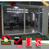 UPVC Bifold Türen und Windows, Vinylpatio-Falz-Türen
