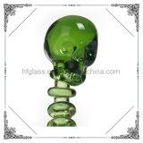 Accesorio de vidrio Hookah Pipas cuencos de cristal de cráneo Dabber tabaco