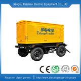 Diesel de 100kw de potencia del generador de adjunto con remolque