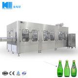 Bibita analcolica della bottiglia di vetro del re Machine Professional che elabora la macchina di coperchiamento di riempimento dell'alluminio