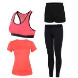 As mulheres Ginásio Yoga Desgaste Suit Sportwear Perneiras Ioga Definido