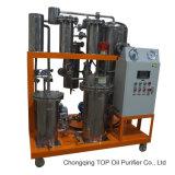 Strumentazione di purificazione di vuoto per riciclare l'olio vegetale usato dell'olio da cucina