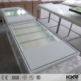 Kkr Superficie sólida piedra Marco espejo en el cuarto de baño