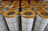 3-lug cartucho filtrante lavable plegado