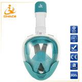 Um novo design Smaco em uma superfície total de máscara de mergulho com snorkel