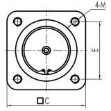 Válvula de Retenção de gravidade utilizados para o compressor de parafuso