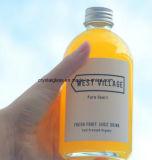 eine einfache runde Glasflasche kann Ihnen neues Exeperience holen