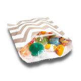 Brown Stripe бумажные мешки конфеты мешок (YH-PGB150)
