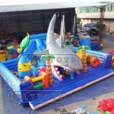 Kids Inflatable Bouncer Slide Water Park Playground for Sale