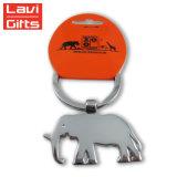 중국제 주문을 받아서 만들어진 금속 동물성 모양 코끼리 Keychain