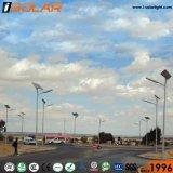 Poste de iluminación de 8 metros de luz LED 80W de Energía Solar de la luz de carretera