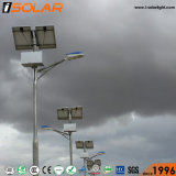 Isolar 50ah 젤 건전지 20W LED 램프 태양 가로등