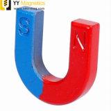 Magnete a temperatura elevata del AlNiCo del getto di U-Figura per i banchi d'istruzione