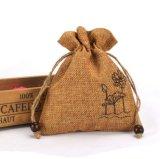 Рекламные джута Drawsrting подарок карманы Burlap упаковки оптовая oem подарки мешок (CJB1033)