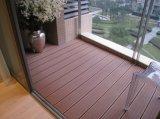 Facile à installer un revêtement de sol pour le pontage de plastique en bois composite avec la CE, Fsc