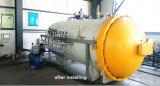 Indústria de transformação de fibras de borracha Autoclave composto