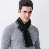 方法男性のスカーフメンズ冬のスカーフのウールのしまのあるショールおよびスカーフの覆い
