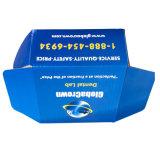 Синий пользовательский размер гофрированной упаковки для продажи