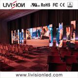 P3.91 Indoor LED écran vidéo pour l'étape Contexte