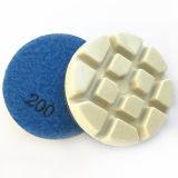 Pulido de diamantes ultra brillante de las pastillas para piso de concreto