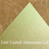Custom покрытие поверхности щетки пустым Сублимация алюминиевый лист/Пластины