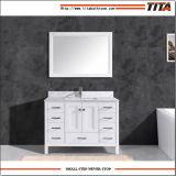 Het hete Verkopende Stevige Houten Moderne Kabinet T9199-48W van de Ijdelheid van de Badkamers
