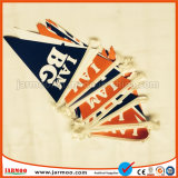 Bunting van het Koord van de Polyester van de driehoek Vlag