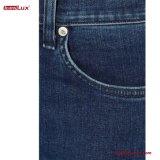 De geborduurde Verzwakte medio-Stijging van Versieringen verdween Geflakkerde Jeans voor Vrouwen langzaam