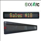 Светодиодный дисплей для отображения движения сообщений знак с единичным параметром