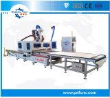 La carga y descarga automática para muebles madera Router CNC máquina