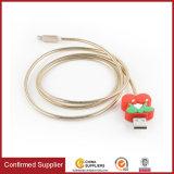 Metal macio o cabo de carregamento 5V2.1A cabo de carga Celular cabo de dados