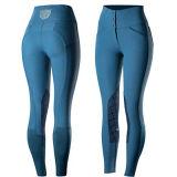 La coutume de l'équitation des pantalons pleine d'impression silicone Jodhpurs culotte équestre de siège
