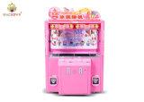 Macrown 2p/4p 아이스크림 분홍색 클로 기계 높은 승리 비율 아이스크림 자동 판매기