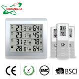 Accès sans fil intérieur/extérieur Thermo-Hygrometer 4 canaux avec trois capteurs à distance