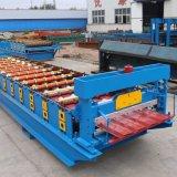 Roulis en acier formant la machine faisant le matériau de construction