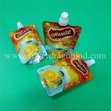 Kundenspezifischer Fastfood- Beutel-Beutel mit Tülle für Milch-Verpackung