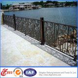 Inferriata classica all'ingrosso del balcone del ferro saldato/balaustra d'acciaio galvanizzata del balcone