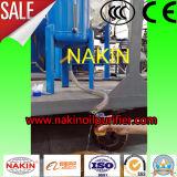 Petróleo negro inútil que recicla el equipo, planta de refinería de la destilación del petróleo del vacío