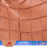 Os importadores de couro padrão de crocodilo estampadas na carteira de couro de PVC/TAMPA MALA mulheres sofá-cama em pele de PVC