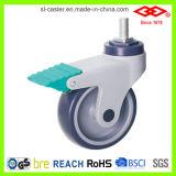 Todos os rodízios de médicos de plástico Roda (L502-39C100X32A)