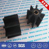 CNC POM /Nylonの自動装置(SWCPU-P-W063)のためのプラスチック拍車ギヤ
