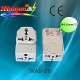 Всеобщий переходника WAII-9B перемещения (гнездо, штепсельная вилка)